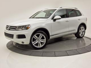 Used 2013 Volkswagen Touareg 4X4 V6 TOIT PANO NAV CUIR CAM DE RECUL for sale in Brossard, QC