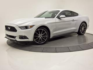 Used 2016 Ford Mustang ECOBOOST CAM DE RECUL BLUETOOTH CRUISE for sale in Brossard, QC