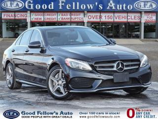 Used 2017 Mercedes-Benz C300 4MATIC, PAN ROOF, LEATHER SEATS, BLIND SPOT , NAVI for sale in Toronto, ON