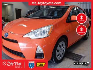 Used 2013 Toyota Prius c Base *AC, BLUETOOTH* for sale in Québec, QC