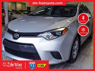 Used 2016 Toyota Corolla CE GR CLIMATISEUR *AC,MIROIRS CHAUFFANTS* for sale in Québec, QC
