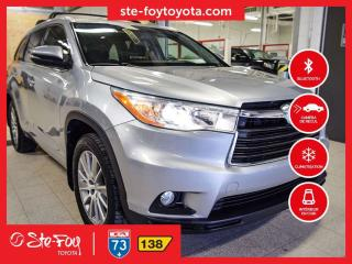 Used 2015 Toyota Highlander XLE V6 *AC, SIEGES CHAUFFANTS,SYSTEME NAVIGATION* for sale in Québec, QC