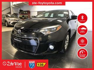 Used 2016 Toyota Corolla S *AC, SIEGES CHAUFFANTS, CAMERA DE RECUL* for sale in Québec, QC
