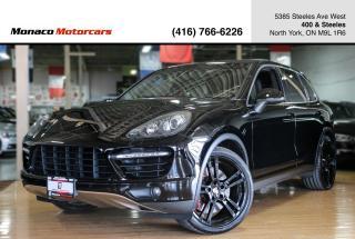 Used 2013 Porsche Cayenne TURBO 4.8L V8 - 500HP PANO NAVI BACKUP BLINDSPOT for sale in North York, ON
