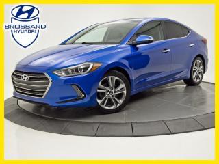 Used 2017 Hyundai Elantra LIMITED, NAV, TOIT CUIR, CAM DE RECUL for sale in Brossard, QC