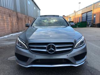 Used 2017 Mercedes-Benz C-Class C300-4MATIC-AMG PKG-NAVI-CAMERA-PANO ROOF-WARRANTY for sale in Toronto, ON