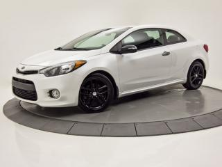 Used 2015 Kia Forte Koup SX CAM DE RECUL BLUETOOTH CRUISE SIÈGES CHAUFFANTS for sale in Brossard, QC
