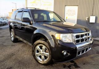 Used 2009 Ford Escape ***LIMITED,4X4,CUIR,TOIT,MAGS,BLUETOOTH* for sale in Longueuil, QC