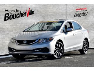 Used 2015 Honda Civic EX Jamais accidenté sièges chauffants bluetooth for sale in Boucherville, QC