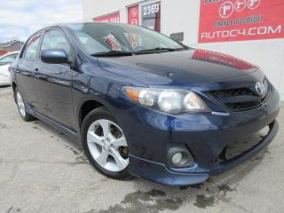 Used 2013 Toyota Corolla S AUTO MAG BLUETOOTH for sale in St-Jérôme, QC