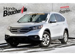 Used 2013 Honda CR-V AWD Touring TRÈS BAS kilométrage, jamais accidenté for sale in Boucherville, QC
