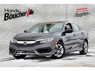 Used 2016 Honda Civic DX Manuel  A TRÈS BAS PRIX Un propriétaire for sale in Boucherville, QC