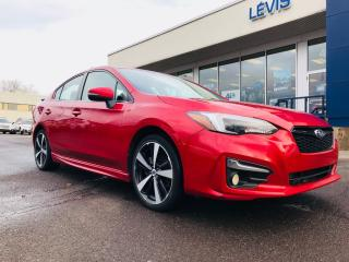 Used 2017 Subaru Impreza 4dr Sdn CVT Sport-tech,full equipe,auto,cuir for sale in Lévis, QC
