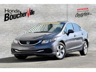 Used 2015 Honda Civic LX Manuel Un Propriétaire for sale in Boucherville, QC