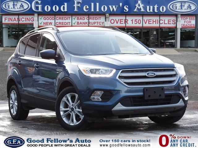 2018 Ford Escape SEL MODEL, 1.5L ECOBOOST, 4WD, LEATHER SEATS, NAVI