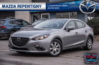 Used 2016 Mazda MAZDA3 4dr Sdn Auto GX Seulement 40783 km !!! for sale in Repentigny, QC