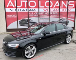 Used 2016 Audi A4 Technik plus for sale in Scarborough, ON