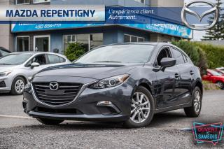 Used 2016 Mazda MAZDA3 4dr HB Sport Auto GS - Camera - Bluetooth - Mags - for sale in Repentigny, QC