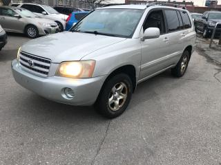 Used 2003 Toyota Highlander SHIPPER'S SPECIAL,NAV,DVD,AUTO,$3800 for sale in Toronto, ON