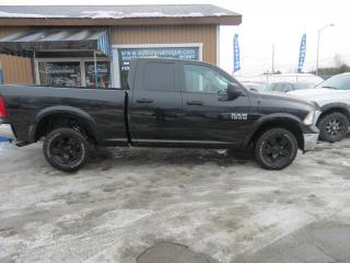Used 2017 RAM 1500 Cabine quad 4RM, 140,5 po Outdoorsman for sale in Prevost, QC