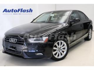 Used 2013 Audi A4 2.0T Premium Quattro *Manuelle-6-vitesses RARE! for sale in St-Hubert, QC