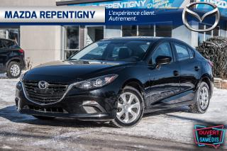 Used 2016 Mazda MAZDA3 4dr Sdn Auto GX - WOW 22000 km !!! Air Camera for sale in Repentigny, QC