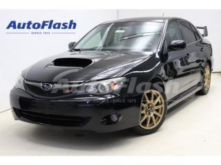 Used 2008 Subaru Impreza WRX 225hp AWD* Air-Intake* Blow-Off* Look-STI for sale in St-Hubert, QC