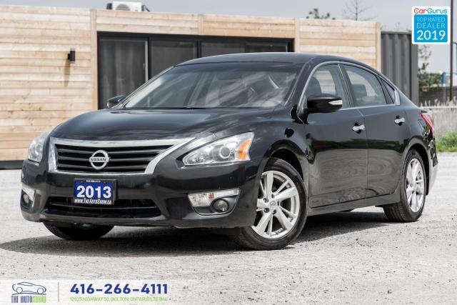 2013 Nissan Altima 2.5 SL|Low KM|Leather|Backup Cam|Keyless|Alloys