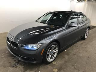 Used 2016 BMW 3 Series 320i xDrive AWD SPORTLINE *55,000KM* CUIR MAGS 18 for sale in St-Eustache, QC
