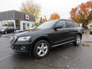 Used 2016 Audi Q5 2.0T QUATTRO CUIR MAGS 96,000KM for sale in St-Eustache, QC