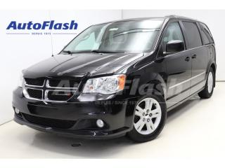 Used 2014 Dodge Grand Caravan CREW *Portes-Electrique *DVD *Cuir *Park-Sensor for sale in St-Hubert, QC