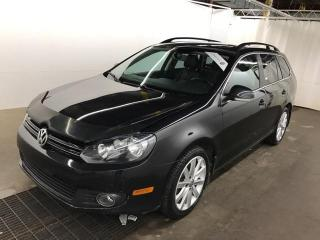 Used 2013 Volkswagen Golf Wagon TDI Highline CUIR TOIT PANOR MAGS AUTOMATIQUE for sale in St-Eustache, QC