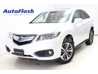 Used 2016 Acura RDX ELITE *Blind-Spot *Lane-Assist *Adapt-Cruise *Full for sale in St-Hubert, QC