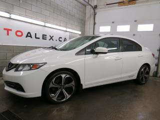Used 2015 Honda Civic Si NAVIGATION CAMERA MAGS SIÉGES ROUGE 57,000KM for sale in St-Eustache, QC