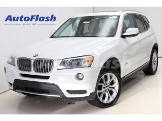 Used 2014 BMW X3 *Cuir-Rouge! *Red-Leather! *Toit-Pano *Camera-360 for sale in St-Hubert, QC