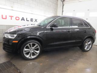 Used 2017 Audi Q3 CUIR TOIT PANO CAMERA MAGS 19 QUATTRO for sale in St-Eustache, QC