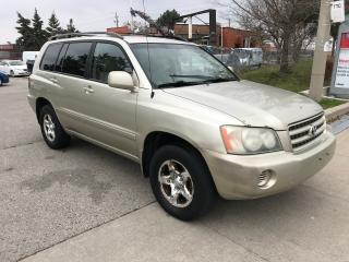 Used 2002 Toyota Highlander SHIPPER'S SPECIAL,$2990, for sale in Toronto, ON