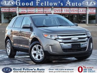 Used 2013 Ford Edge SEL MODEL, PANROOF, LEATHER & POWER & HEATED SEATS for sale in Toronto, ON