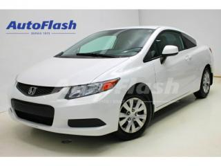 Used 2012 Honda Civic LX Coupe *Bluetooth *A/C *Cruise *Gr.Electric for sale in St-Hubert, QC