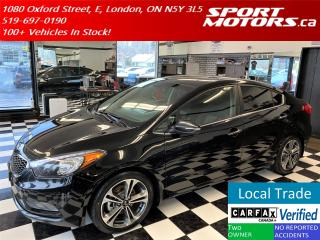 Used 2015 Kia Forte EX+Heated Seats+Camera+New Tires+Accident Free for sale in London, ON