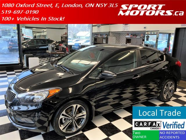2015 Kia Forte EX+Heated Seats+Camera+New Tires+Accident Free