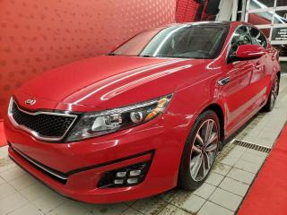 Used 2015 Kia Optima *SXT*TOIT*CUIR*GPS* TOIT*TURBO* for sale in Québec, QC