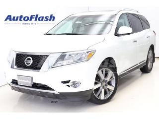 Used 2015 Nissan Pathfinder Platinum *2-DVD *GPS *Camera-360- *7-Pass *Full! for sale in St-Hubert, QC