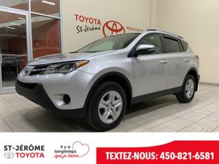 Used 2014 Toyota RAV4 * LE * GR ELECT * GARANTIE 09-2020 OU 160000KMS * for sale in Mirabel, QC