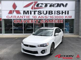 Used 2016 Mitsubishi Lancer Limited AWC+TOIT+CAMÉRA DE RECUL+MAGS+AILERON for sale in St-Hubert, QC