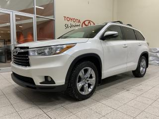Used 2016 Toyota Highlander * AWD * LIMITED * CUIR * GPS * 46 000 KMS * for sale in Mirabel, QC