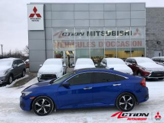 Used 2017 Honda Civic BLUETOOTH-CAMERA DE RECUL-TOIT-PUSH START for sale in St-Hubert, QC