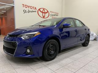 Used 2015 Toyota Corolla * SPORT * CAMERA DE RECUL * BLUETOOTH * for sale in Mirabel, QC