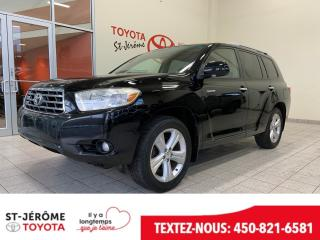 Used 2008 Toyota Highlander * AWD * V6 LIMITED * CUIR * TOIT * for sale in Mirabel, QC