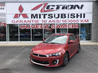 Used 2017 Mitsubishi Lancer SE LTD/TOIT/MAGS/CAM RECUL/BLUETOOTH for sale in St-Hubert, QC